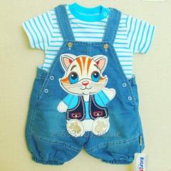 Overalls for the boy 6042