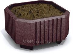 Concrete bed of City-Form Planter Box