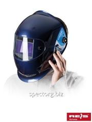 A welding helmet with the automatic OTW-PROWELD