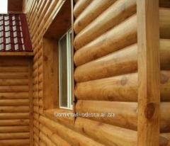 Metal siding Block house Log Printek, code 3511402