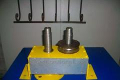 The machine for preparation of profile pipes