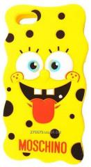 Cover an overlay of Apple Moschino Sponge BOB