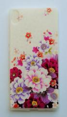 Cover overlay of Huawei Silicone 0.5 mm Huawei P7