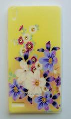 Cover overlay of Huawei Silicone 0.5 mm Huawei P6