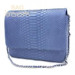 Clutch from leather of a python (BT-102)
