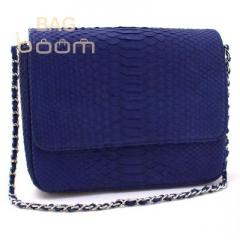 Clutch from leather of a python (BT-103)