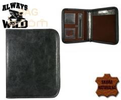 Leather WILD (TS1003 BLACK) folder