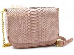 Clutch from leather of a python (BT-104)
