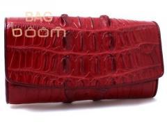 Purse female of leather of a crocodile (NPCM 03 BT