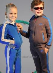 He children's sports suit warmed for boys and