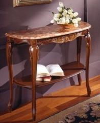 Italian console little table (table-top marble)