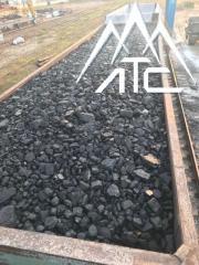 Каменный уголь  (25-50 мм) сортовой казахский