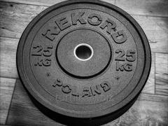 Ağır atletik diskler