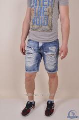 Шорты мужские джинсовые CROSSNESS CR3620