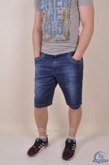 Шорты мужские джинсовые стрейчевые VARXDAR