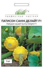 Seeds of bush pumpkins of Sanni Delight of F1,