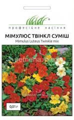 Flowers seeds, Odnoletnik Mimulyustvinkl mix,