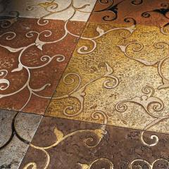 The tile is exclusive. Finishing materials, tile,