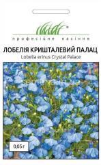 Flowers seeds, Odnoletnik Lobelia Crystal palace,