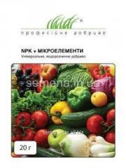 NPK fertilizer + minerals Universal,
