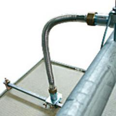 Flexible supply of Fastlex assembled with a braid