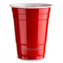 Red Plastic Glasses for parties