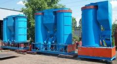 Vibroseparator centrifugal universal A1-BTsSM-100