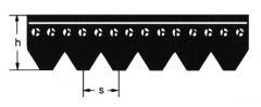 Belts poliklinovy DIN 7867, Belts flat final