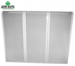 Decorative lattice on the pig-iron battery 12
