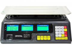 Trade electronic scales of Crystal