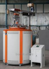 Carburizing steel furnace SShCM-6.10/11