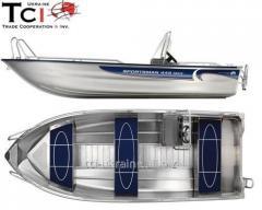 Aluminum boat Linder 445 MAX SPORTSMAN