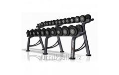 Dumbbells the non-demountable rubberized 4-56 kg +
