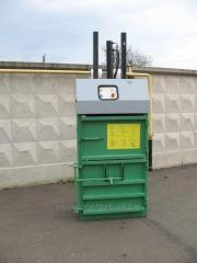 Press for waste paper, PET-bottles, RTV-5