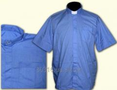 Shirt, short sleeve, fabric rubashechny #3