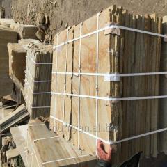 Slab from sandstone
