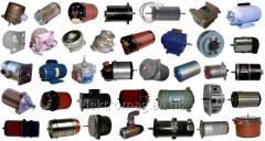 Электродвигатели ДПР, ДПМ, УАД, СЛ, УЛ, ПЛ, БС,