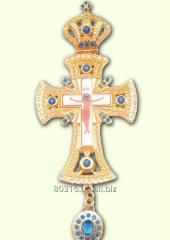 Cross with HK1 ornamen