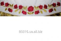 Embroidery on a cassock 02.049