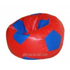 Padded stool is SCARLET Ball 261/1