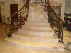 Лестницы мраморные Чернигов, лестницы из мрамора,