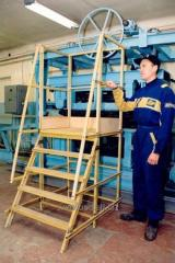 Step-ladders - supports, step-ladders fiberglass,