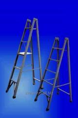 Лестницы приставные одноколенные,  стеклоплас