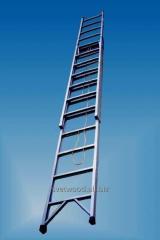 Лестницы раздвижные,  стеклопластиковые...