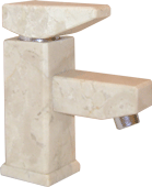 The mixer from a natural stone - marble.