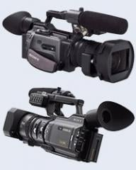 SONY DSR-PD170P camcorder + disk recorder and