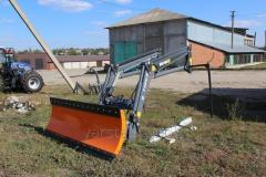 Погрузчик форонтальный на трактора МТЗ, ЮМЗ Hercules T 229 ( Metal Fach, Польша )