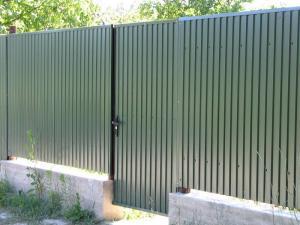 Профнастил для заборів