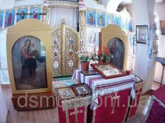 The furniture is church: for ceremonies, icon