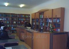 Стойка для читального зала библиотек и  учебных